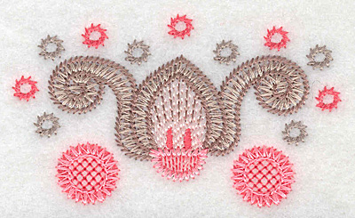 "Embroidery Design: Design C small  2.03""h x 3.49""w"