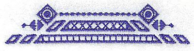 Embroidery Design: Elegant border 9 small 3.87w X 0.86h