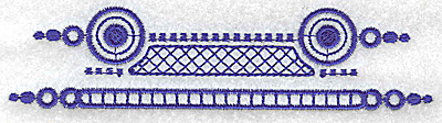 Embroidery Design: Elegant border 10 large 4.97w X 1.22h