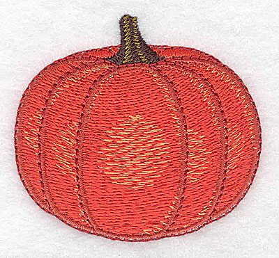 Embroidery Design: Pumpkin medium 2.60w X 2.37h