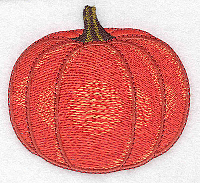 Embroidery Design: Pumpkin large 3.50w X 3.20h