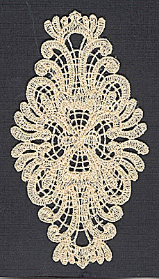 Embroidery Design: Lace 1 2.65w X 4.96h