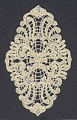Embroidery Design: Lace 3  2.96w X 4.90h