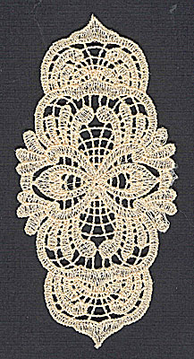 Embroidery Design: Lace 4 2.35w X 4.94h