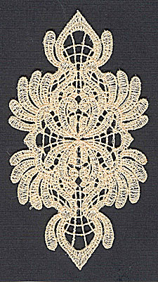 Embroidery Design: Lace 6 2.63w X 4.94h