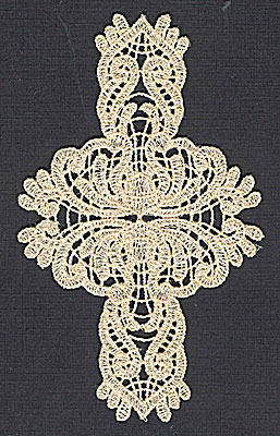 Embroidery Design: Lace 7 2.99w X 4.98h