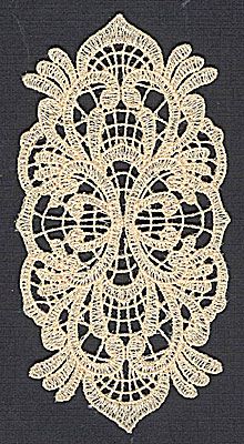 Embroidery Design: Lace 8 2.57w X 4.98h