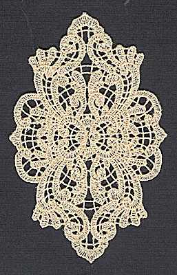 Embroidery Design: Lace 9 3.15w X 4.98h