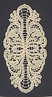 Embroidery Design: Lace 11 2.40w X 4.97h