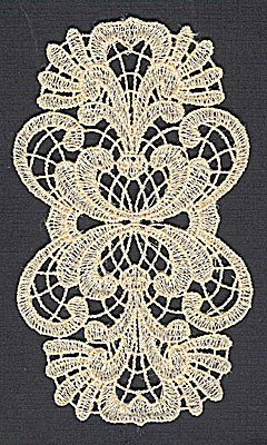Embroidery Design: Lace 12 2.83w X 4.98h