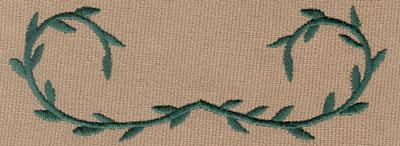 """Embroidery Design: Decorative Vine 14.99"""" x 1.88"""""""