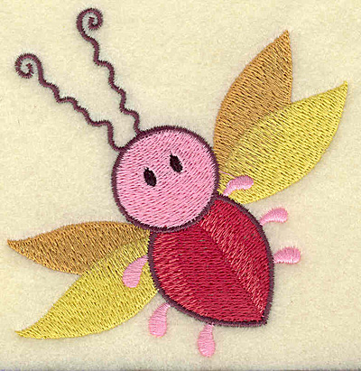 Embroidery Design: Insect 3.71w X 3.80h