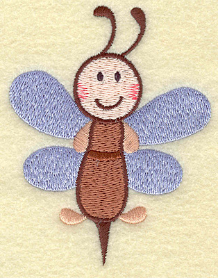 Embroidery Design: Bee  2.89w X 3.75h