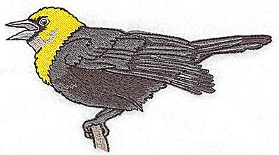Embroidery Design: Bird B large 4.94w X 2.78h