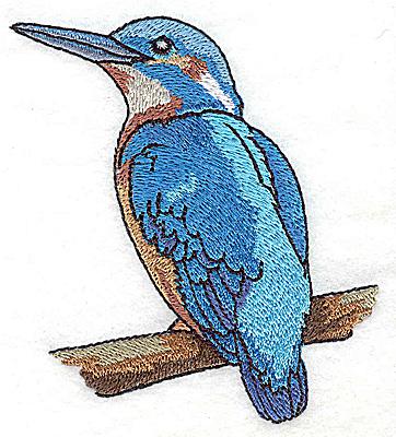 Embroidery Design: Bird G small 3.54w X 3.85h
