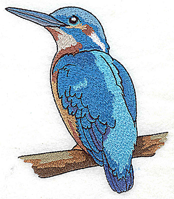 Embroidery Design: Bird G large 4.53w X 4.93h