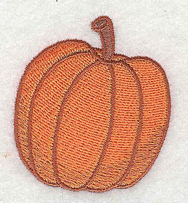 Embroidery Design: Pumpkin 1.89w X 2.12h