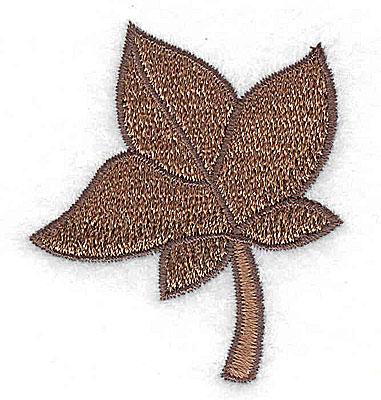 Embroidery Design: Fall leaf 1.86w X 2.16h