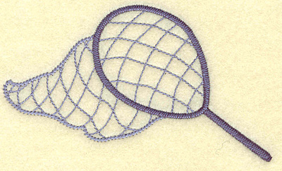 Embroidery Design: Fishing net large 4.98w X 2.95h