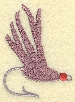 Embroidery Design: Fishing lure B small 2.11w X 2.89h