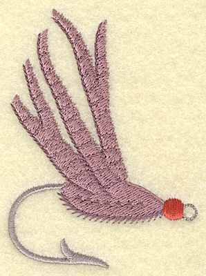 Embroidery Design: Fishing lure B large 2.73w X 3.75h