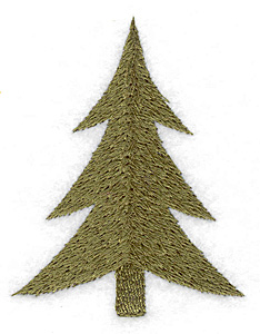 Embroidery Design: Christmas tree 2.37w X 3.02h