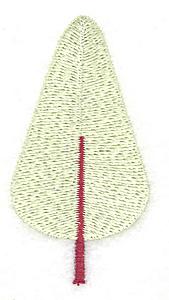 Embroidery Design: Tree 1.46w X 2.76h