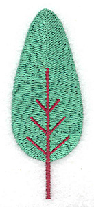 Embroidery Design: Tree 1.18w X 3.03h