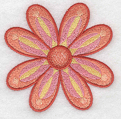Embroidery Design: Flower only 3 2.86w X 2.86h