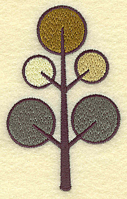 Embroidery Design: Evergreen Tree 2.38w X 3.86h