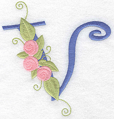 Embroidery Design: V large 4.90w X 5.13h