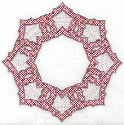Embroidery Design: Circle of Hearts 7.01w X 7.01h