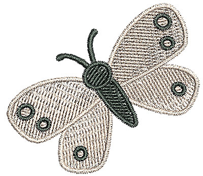 Embroidery Design: Butterfly 2.16w X 1.90h