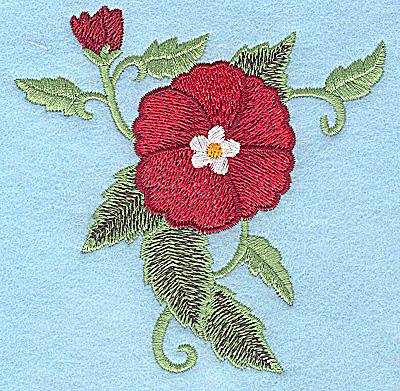 Embroidery Design: Poppy  3.89w X 3.88h