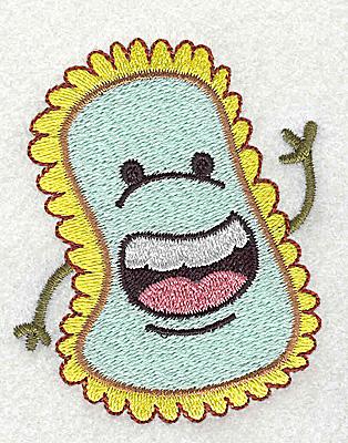 Embroidery Design: Germ D2.99H x 2.42W