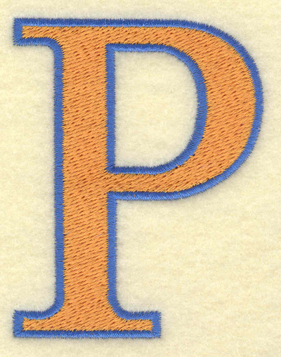 Embroidery Design: Rho large 2.37w X 3.03h
