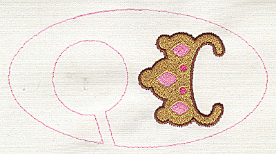 Embroidery Design: Closet dividers girls Tiara 5.40w X 2.91h