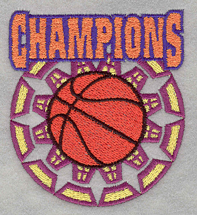 Embroidery Design: Champions3.09w X 3.47h