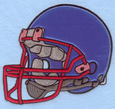 Embroidery Design: Football helmet applique5.60w X 5.00h