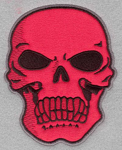 Embroidery Design: Skull B applique4.00w X 5.00h