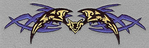 Embroidery Design: Bat large7.00w X 2.03h