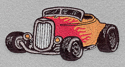Embroidery Design: Roadster small3.90w X 1.88h