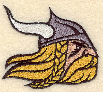 "Embroidery Design: Viking warrior small 3.04""w X 2.65""h"