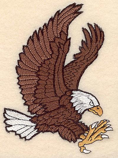 "Embroidery Design: Eagle medium 3.68""w X 4.99""h"