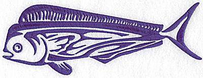 Embroidery Design: Game Fish 3 large 9.12w X 3.37h