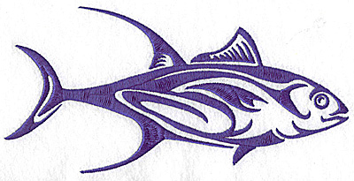 Embroidery Design: Game Fish 4 large 3.43w X 4.15h
