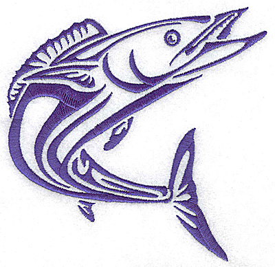 Embroidery Design: Game Fish 6 medium 5.02w X 4.98h