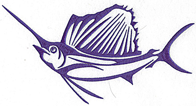 Embroidery Design: Game Fish 10 large 9.16w X 4.90h