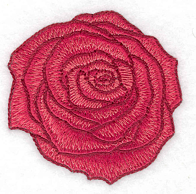 Embroidery Design: Rose large2.70w X 2.72h