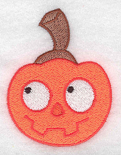 Embroidery Design: Pumpkin 2.16w X 2.83h